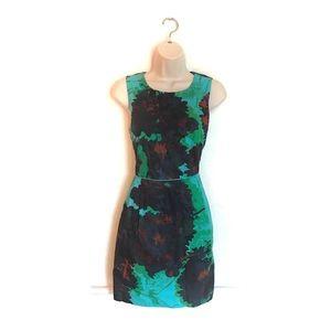 J Crew Floral Cotton Dress
